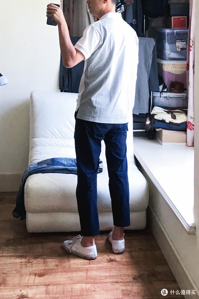 Look 1(优衣库工装九分裤 / 匡威开口笑)