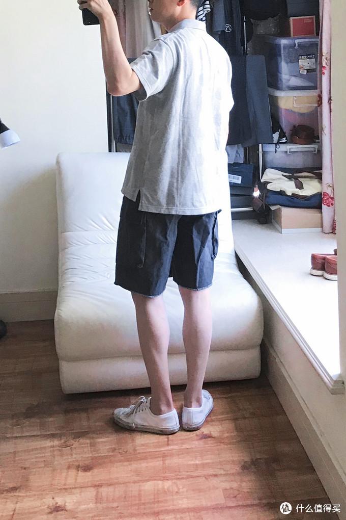 Look 4(伪Madness黑色水洗短裤 / 匡威开口笑)