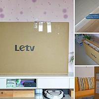 乐融Letv 55吋4K电视外观展示(底座|遥控器|接口|按键|机身)