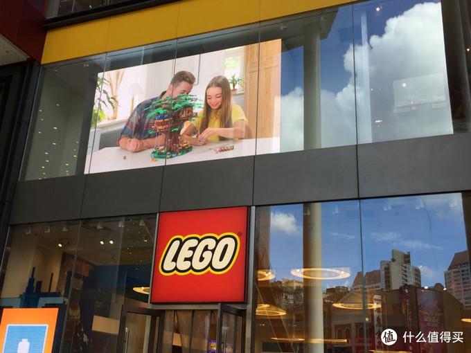 上海南京东路步行街乐高旗舰店打卡——收获满满