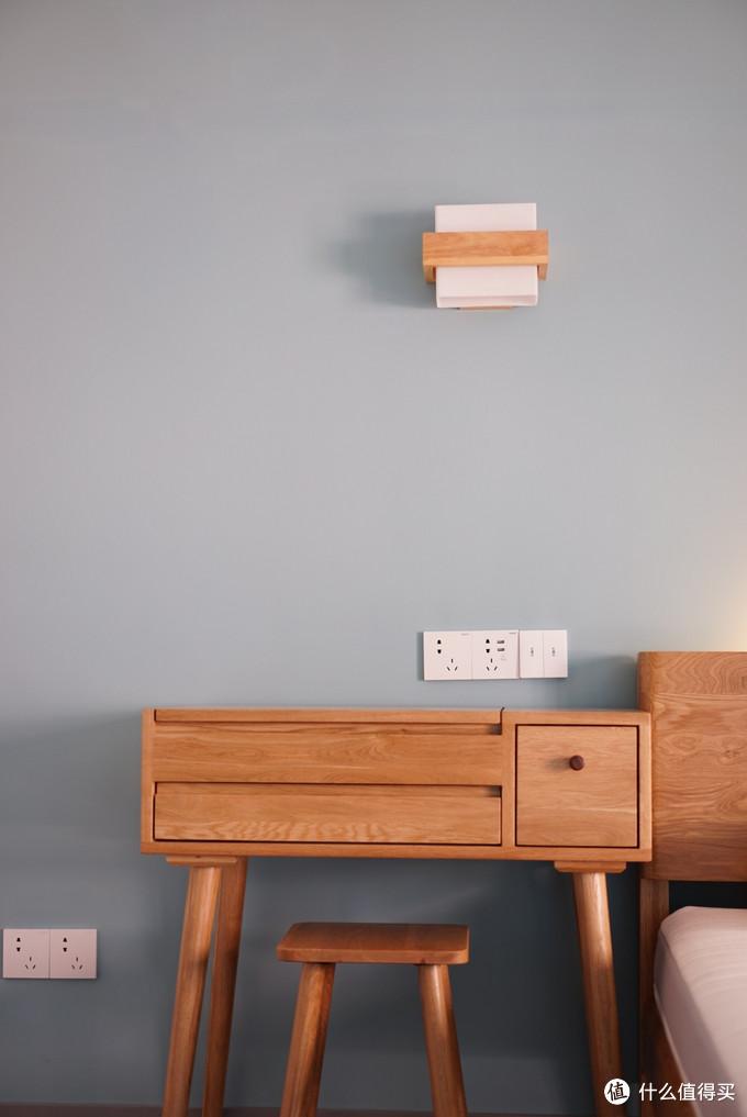 传统壁灯加入aqara开关后,秒变智能灯
