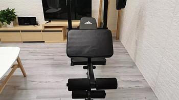 Adidas健身器械外观细节(背垫|大小|杠铃架|管材)
