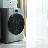 颜值与实力并存:美的10公斤直驱洗烘一体滚筒洗衣机试用报告