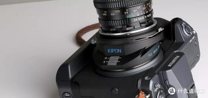 广角镜头都是移轴镜头,KIPON TS M645-GFX移轴转接环玛米亚中画幅镜头转接富士GFX机身