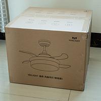 Yeelight逸扬智能风扇灯体验好用吗怎么样(性能参数|上门安装|灯罩|配对连接|灯光设置)