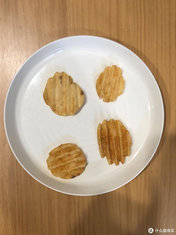 新春年货备零食—造型奇特、口味劲脆浓郁的乐事大波浪薯片(铁板鱿鱼味,70克,袋装)