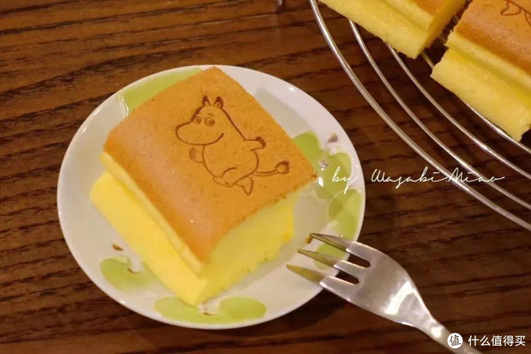 用小鹅黄制作的古早蛋糕