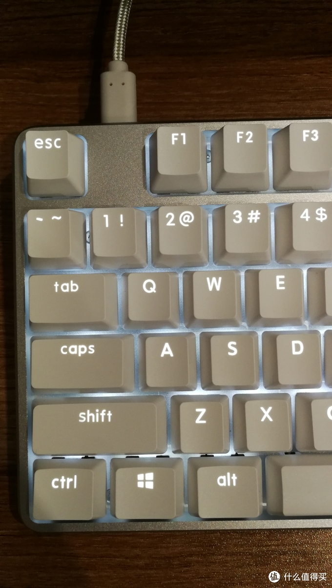不怎么样的闭口字符+abs键帽