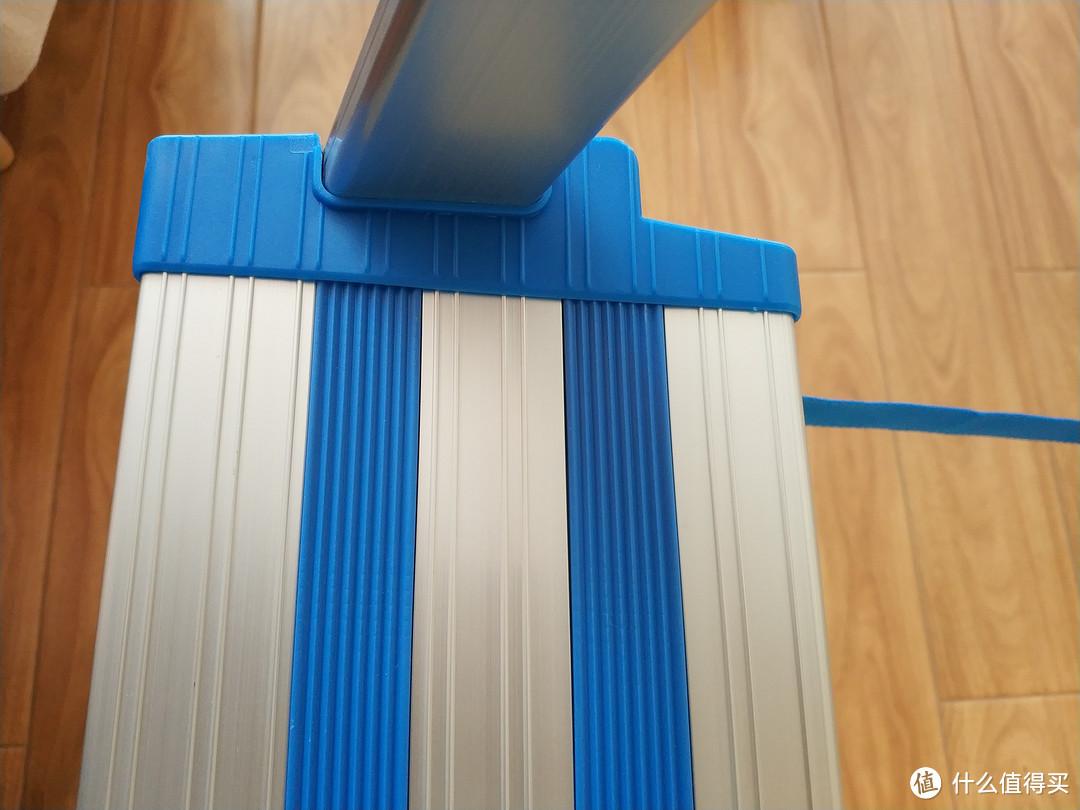 万怡WRIGHT五步加宽加厚铝梯使用体验