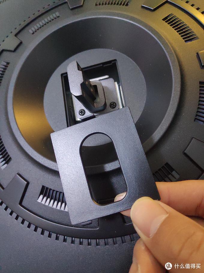 显示器与支架连接接口