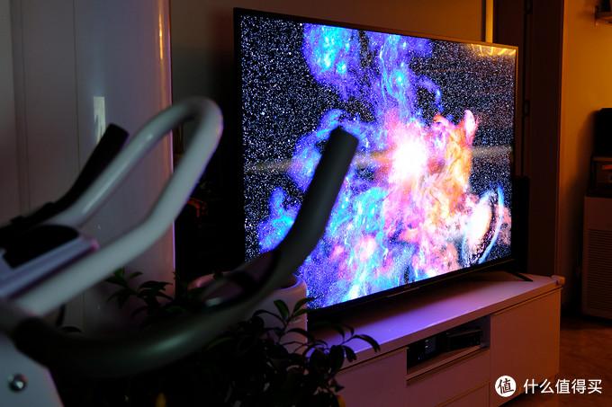 小客厅放75英寸的电视是什么体验