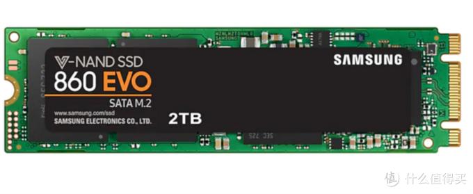 走SATA协议的M.2固态硬盘,图片来自三星官网