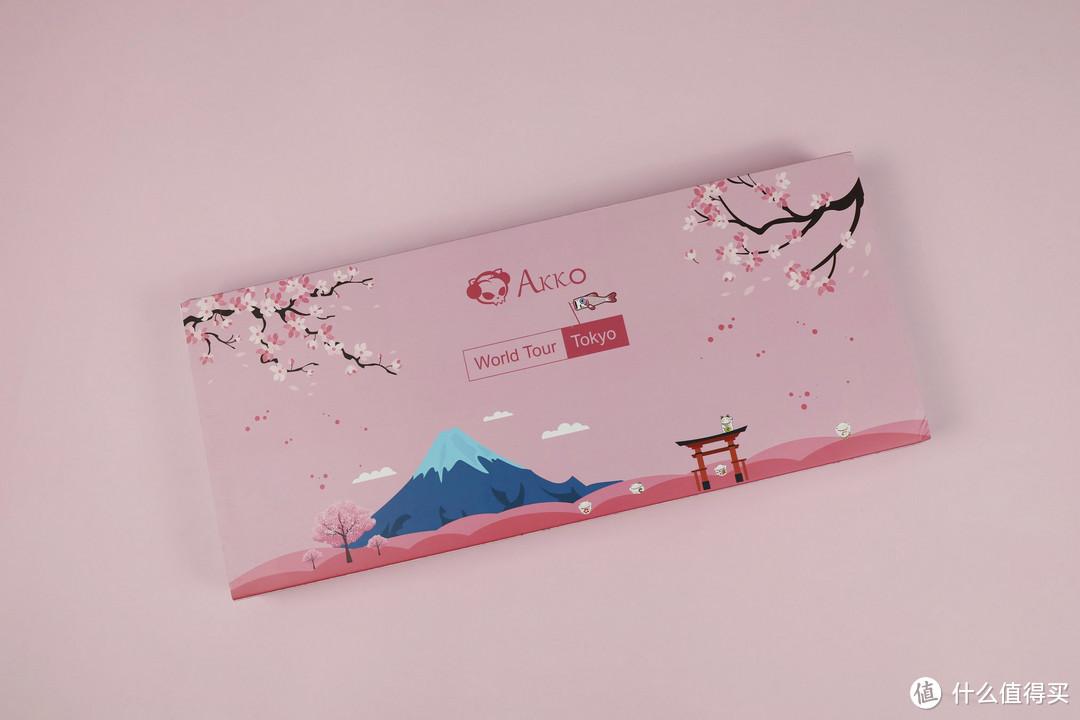 指尖上的淡雅和风享受-AKKO Tokyo主题PBT热升华DSA键帽开箱分享