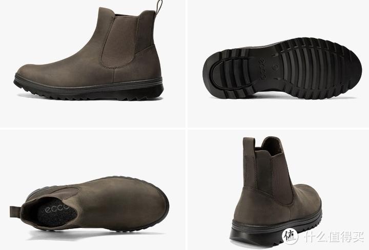 推荐这款主要是因为这个鞋底,不像其他切尔西传统坡跟,这双底比较运动