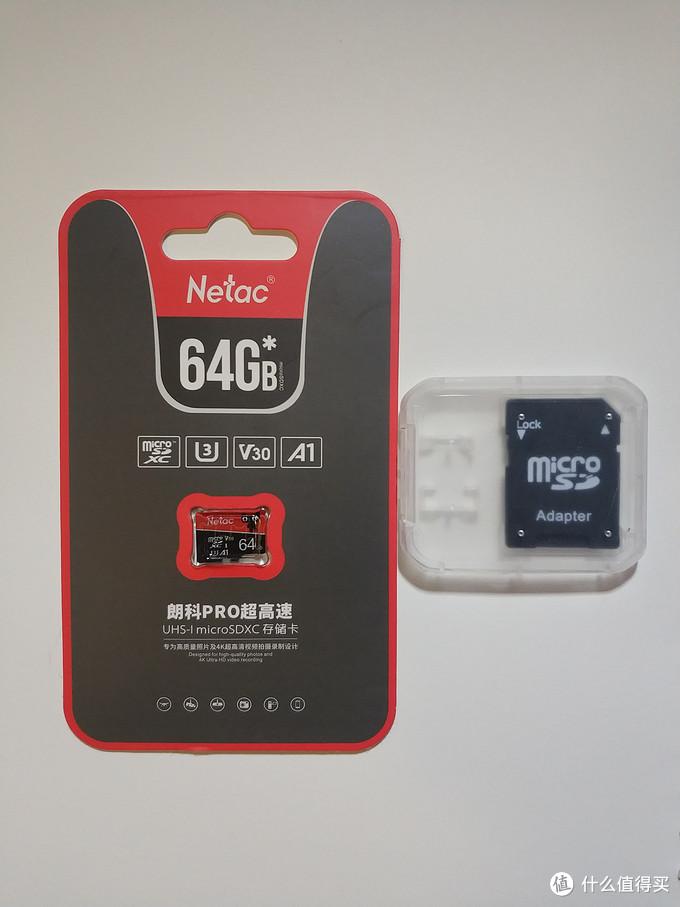 廉价U3 TF卡性能如何?朗科P500 64G上手体验
