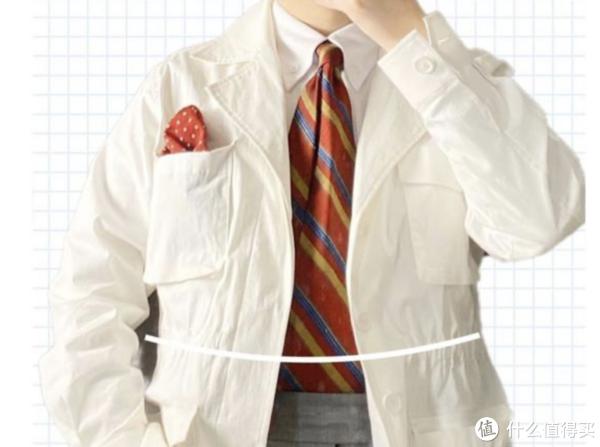 领带搭配夹克