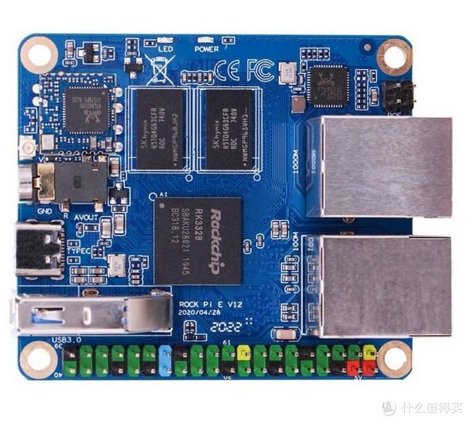 比树莓派还小,千兆+百兆LAN:Radxa瑞莎 发布Rock Pi E开发板