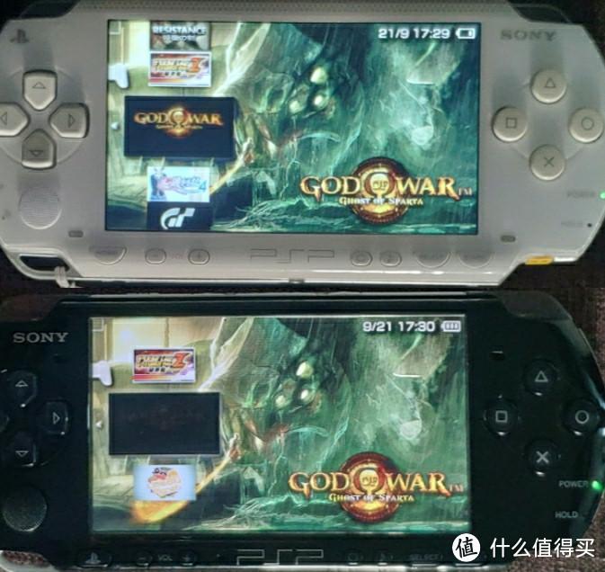 索尼PSP1000游戏掌机 IPS屏幕改装(psv/psp3000)