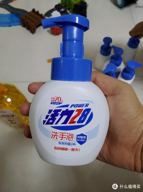 34块钱买的 活力28 泡沫洗手液 258g和西柚浓缩洗洁精 开箱