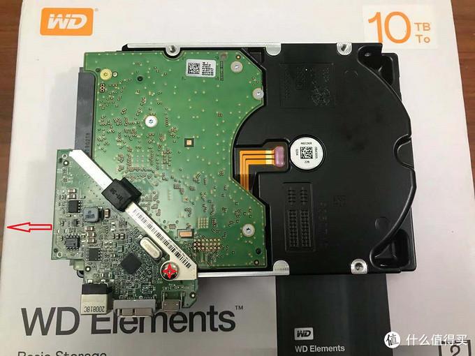 西数Elements 10TB桌面硬盘5分钟无损拆盘经验分享