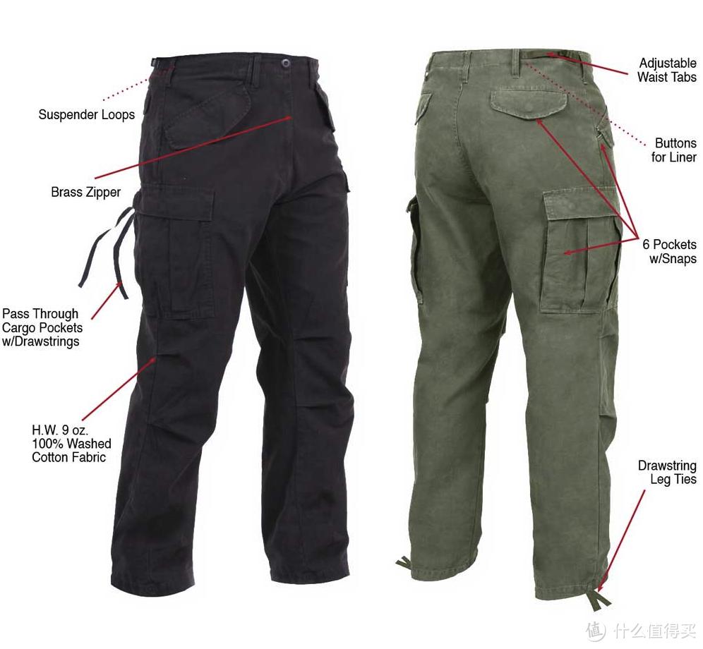 Rothco的M65 Cargo Pants,摘自leg**daryusa
