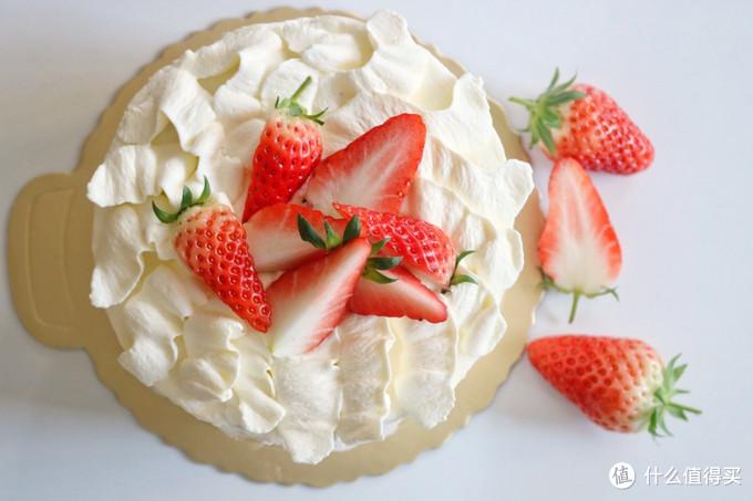 零基础轻松做裱花蛋糕,简单也能好看,网友:看着就想吃