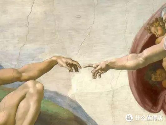 创世纪壁画经典的手指触碰部分