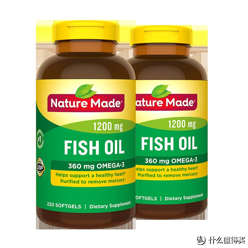 NatureMade 深海鱼鱼油220粒/瓶