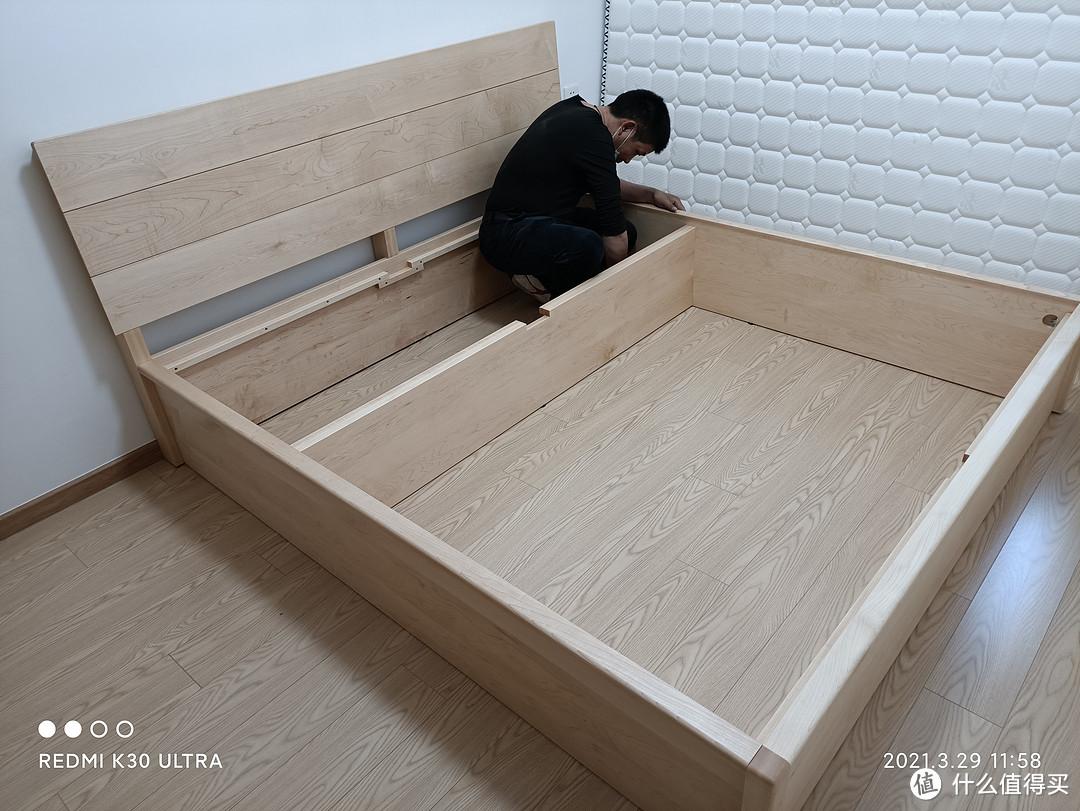 国内第一梯队的实木箱体床长什么样子