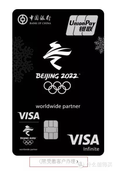 2022冬奥主题信用卡,圆你中行5倍积分梦!