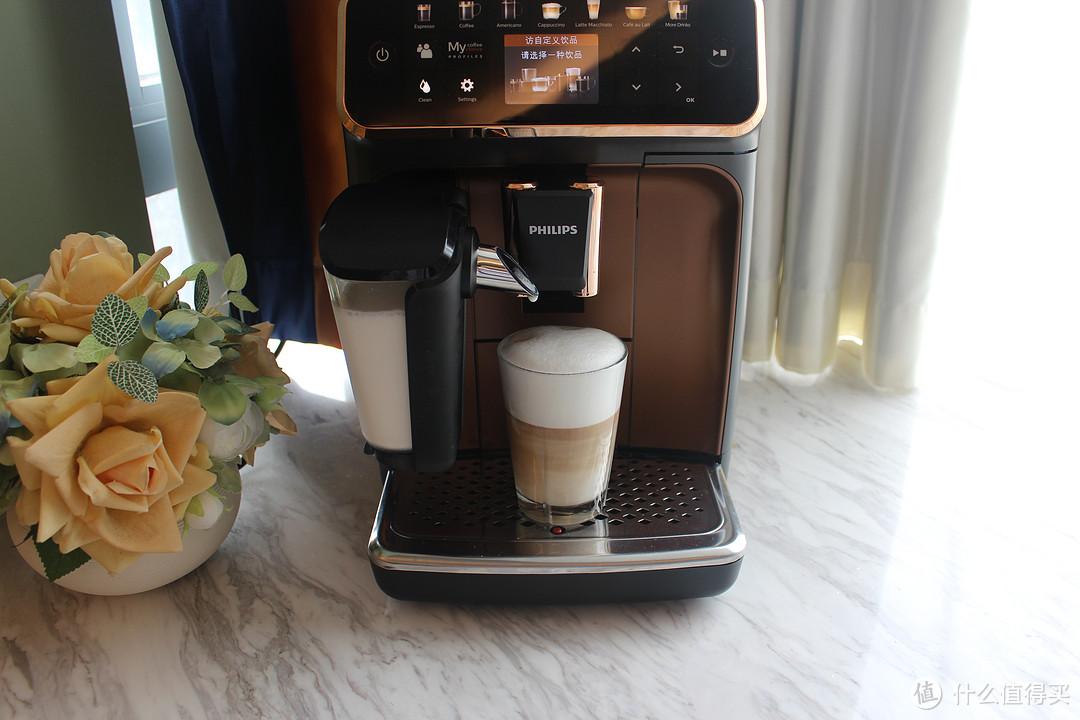咖啡与奶泡比例为1:5的拿铁玛奇雅朵