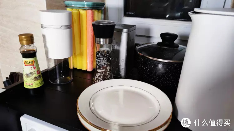 """有了这款美仕杰微波炉置物架,我的厨房台面""""变大了"""",空间更足"""