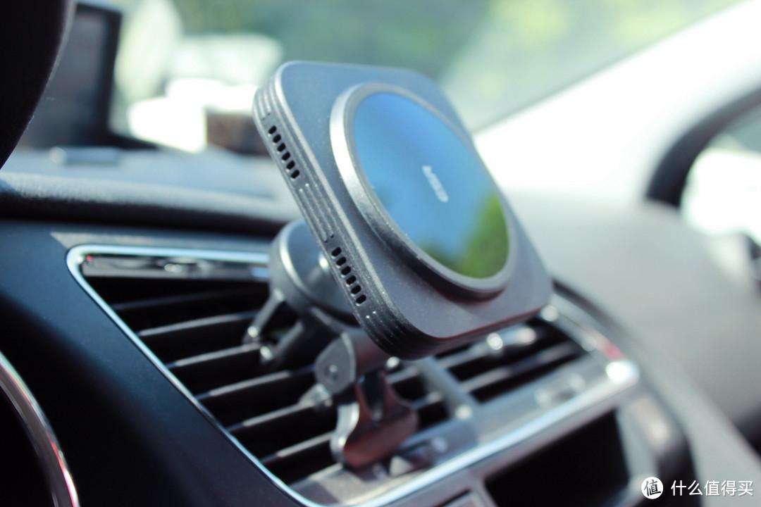 ESR亿色车载磁吸无线充支架让出行更加方便