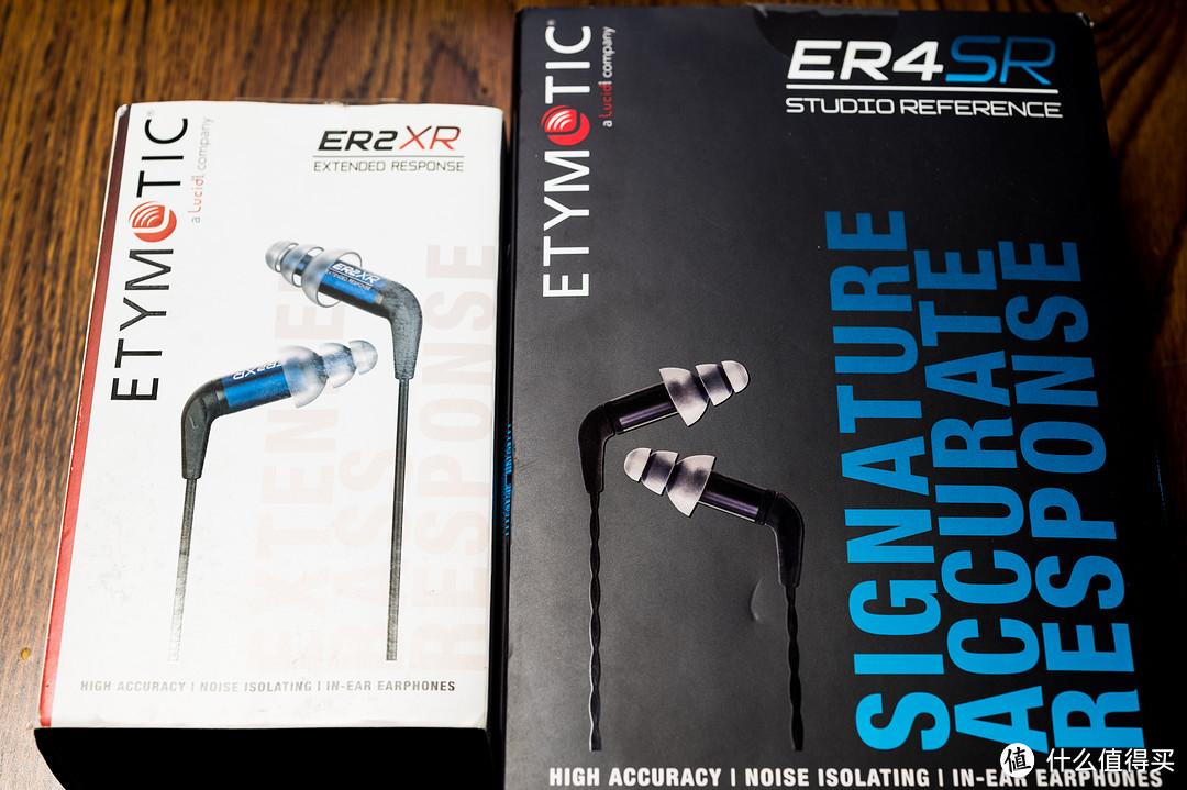 穿越三十年的感动——音特美ER4SR&ER2XR评测
