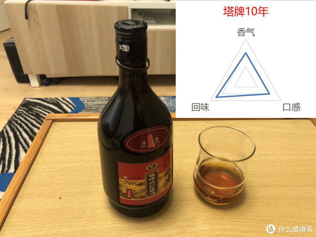 塔牌10年绍兴花雕,13分