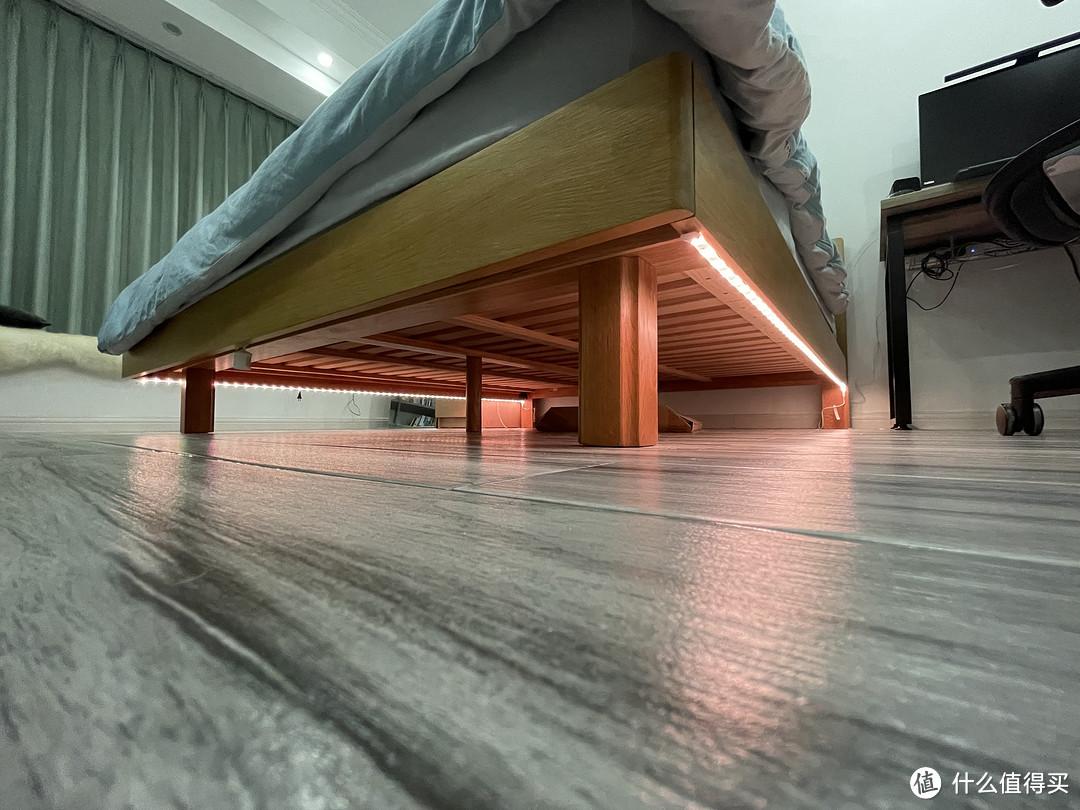 从床下看的效果