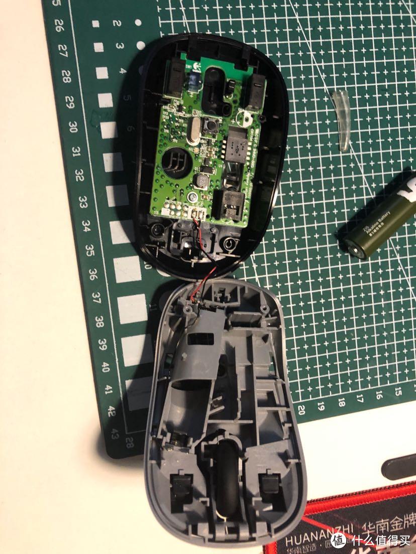 【拆解】Logitech-M215无线鼠标拆解-清洗-还原~流程作业