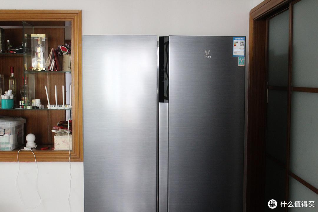 不仅仅是大,更能一键净味!云米639L双开门新风净味冰箱