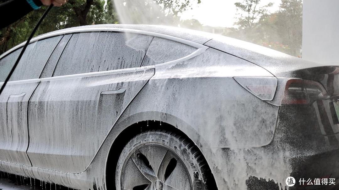 发烧级DIY洗车装备 绿田家用洗车机套装使用体验