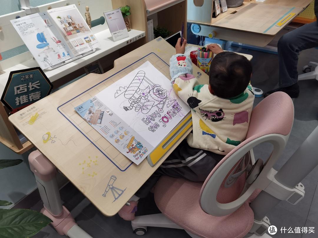 一万的儿童学习桌和两千的体验竟然一样,斯芬达儿童学习桌套装 使用体验