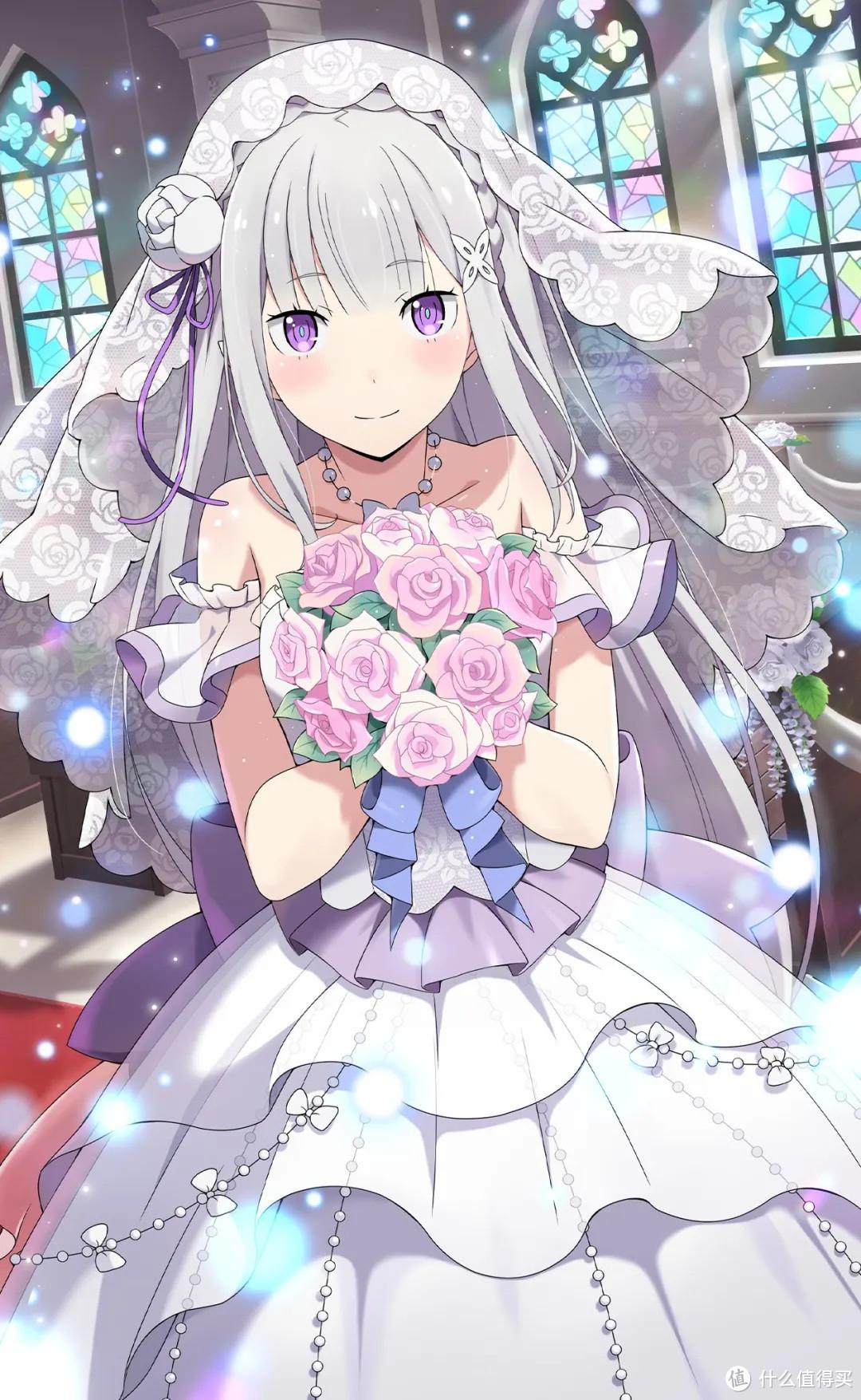 《Re:从零开始的异世界生活》爱蜜莉雅终于穿上婚纱!新展开!