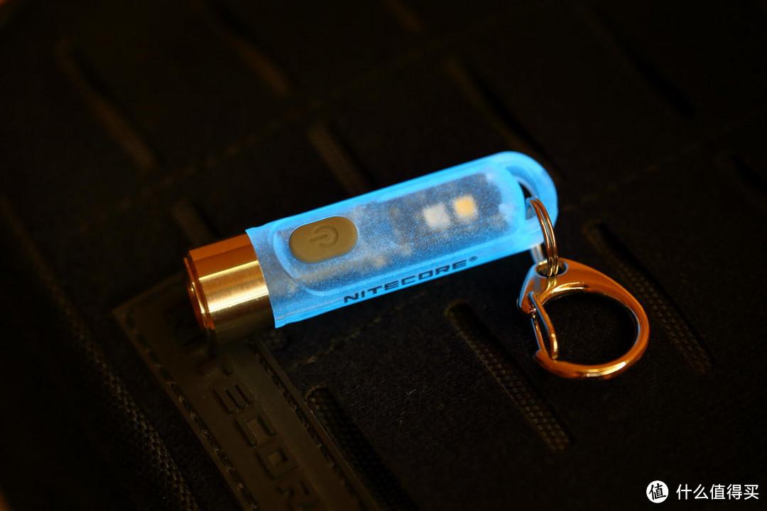 最美的多功能钥匙桶NITECORE TIKI GITD