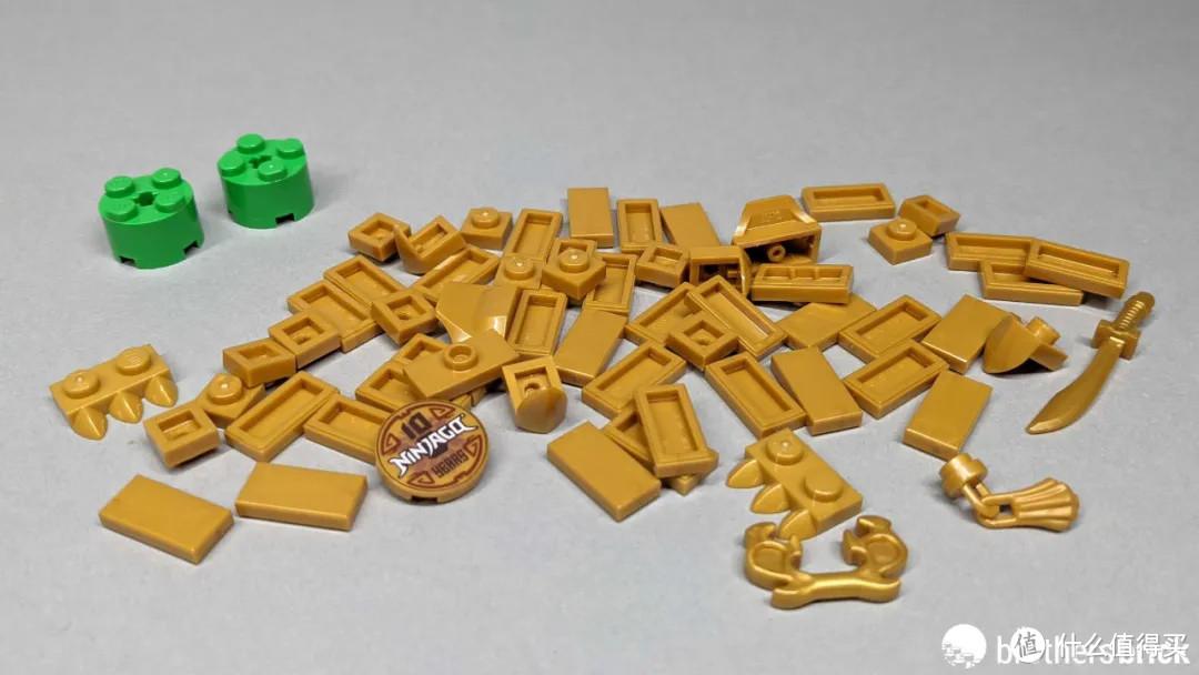乐高赠品套装40490幻影忍者十周年方头仔开箱评测