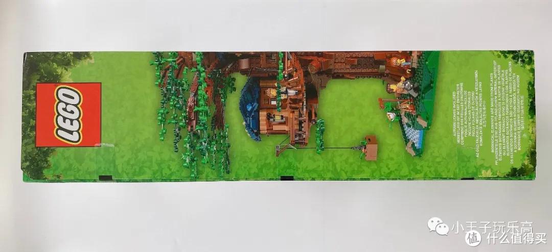 乐高21318 树屋开箱评测,一款套装玩转春夏秋冬(附MOC图纸)