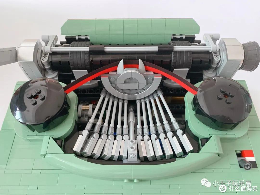 乐高21327 打字机首发开箱评测体验,到底值不值得入手?