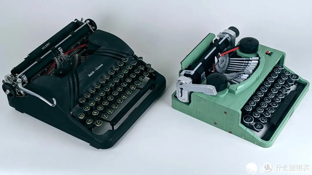 写一封复古信笺!乐高Ideas套装21327打字机开箱评测