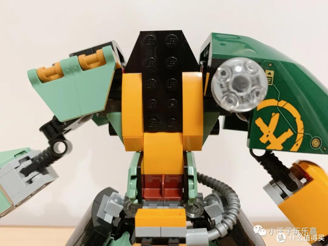 乐高71750 水下机甲开箱评测,爆改机甲膝盖,只要10个零件!