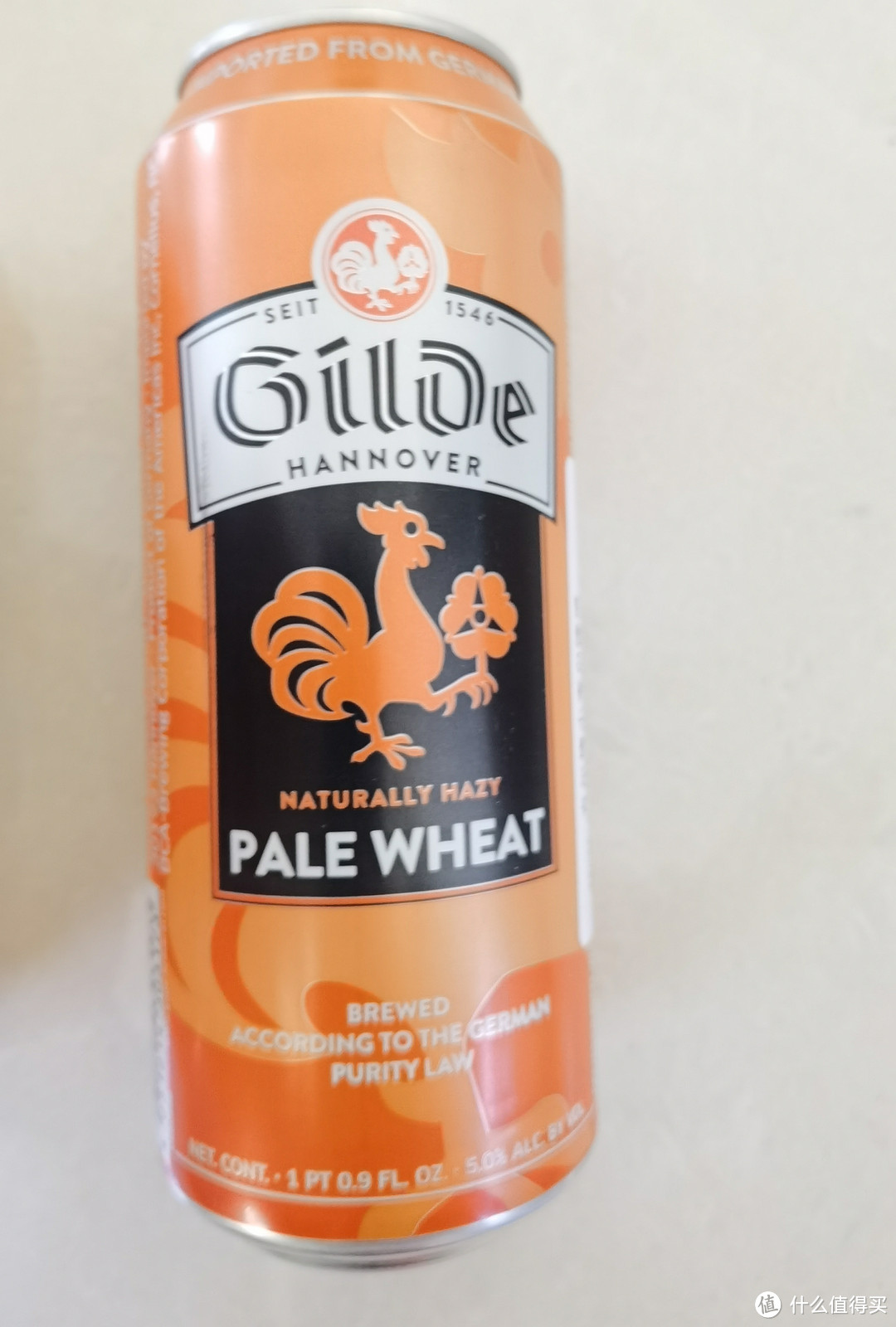 吉尔德小麦白啤酒试饮