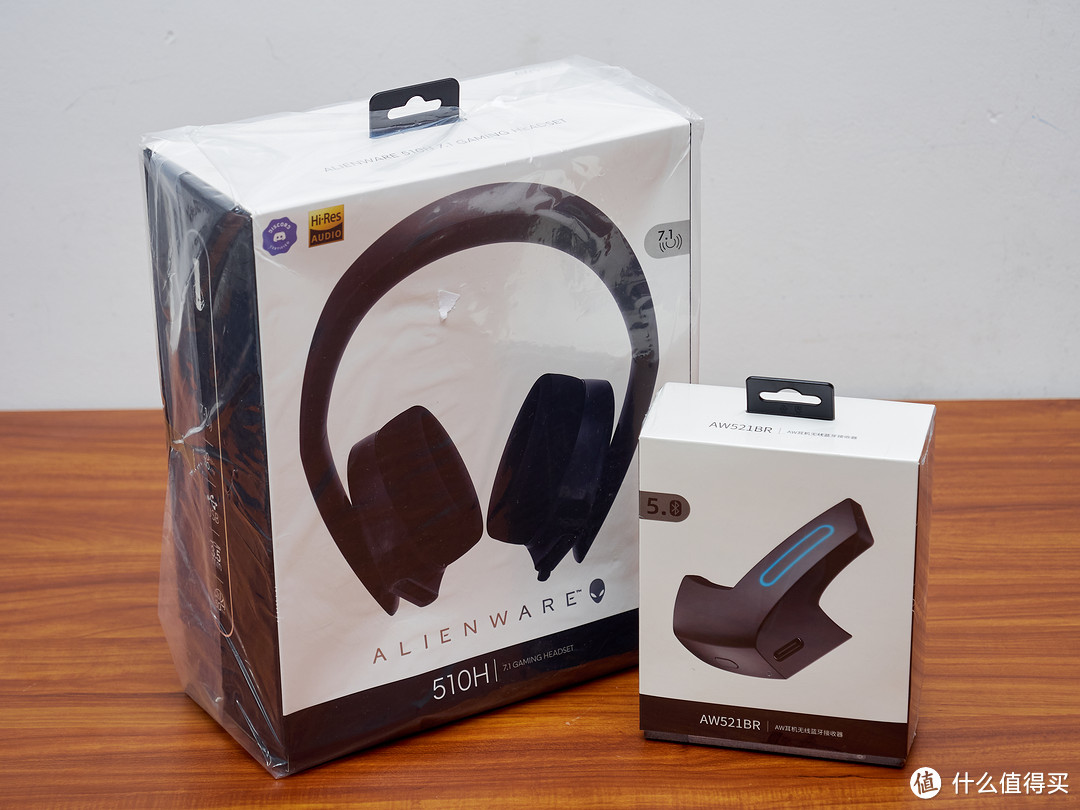 朋友送我外星人!Alienware 510H耳机+ AW521BR套装体验