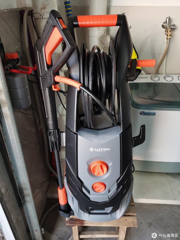 两年前买来的波塞冬p6,串激电机的高端型号,目前放在车库中当做刷车主力